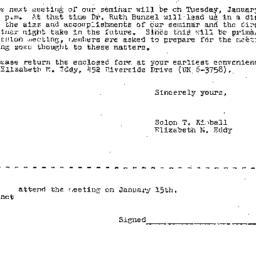 Correspondence, 1963-01-15....