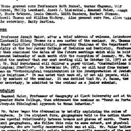 Minutes, 1973-09-12. Conten...
