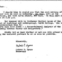 Correspondence, 1975-04-29....