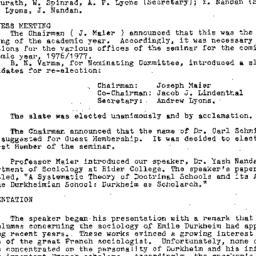 Minutes, 1976-04-21. Conten...
