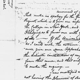 Document, 1785 January 13