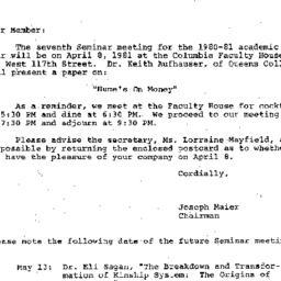 Correspondence, 1981-03-28....