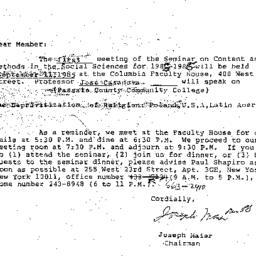 Correspondence, 1986-05-10....