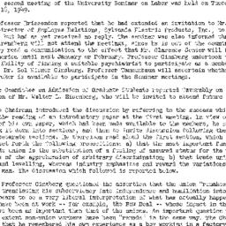 Minutes, 1949-10-18. Labor,...
