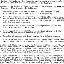 Minutes, 1953-02-11. Labor,...