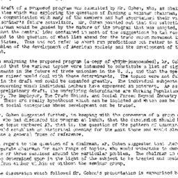 Minutes, 1953-10-14. Labor,...