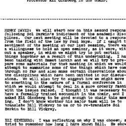 Minutes, 1958-02-05. Labor,...