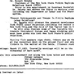 Announcements, 1971-02-17. ...