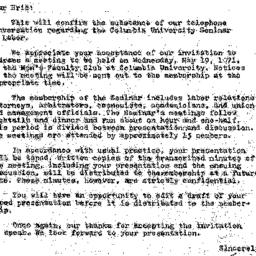 Correspondence, 1971-04-06....