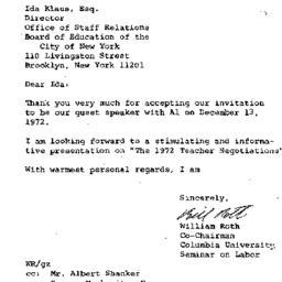Correspondence, 1972-10-27....
