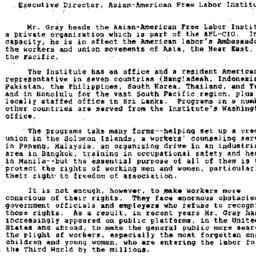 Handouts, 1990-11-02. Labor...