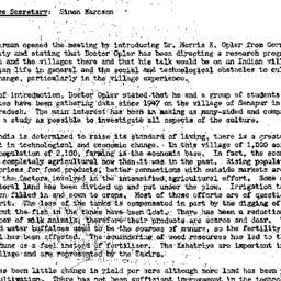 Minutes, 1956-04-17. Develo...