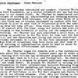 Minutes, 1958-02-11. Develo...