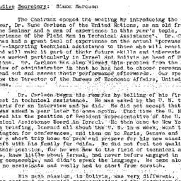 Minutes, 1957-12-03. Develo...