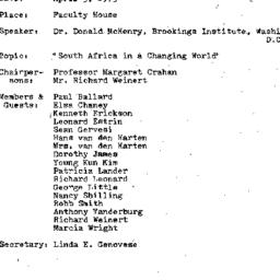Minutes, 1973-04-05. Develo...