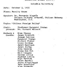 Minutes, 1972-10-05. Develo...
