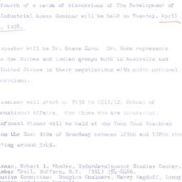 Announcements, 1978-04-18. ...