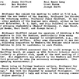 Minutes, 1966-10-19. Eighte...