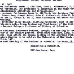 Minutes, 1971-02-11. Eighte...