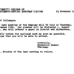 Announcements, 1979-11-25. ...