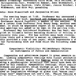 Minutes, 1987-10-15. Eighte...