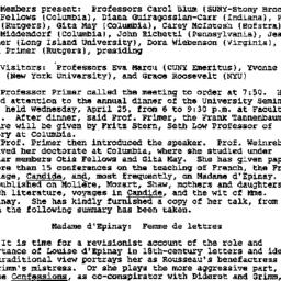Minutes, 1990-03-15. Eighte...