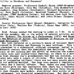 Minutes, 1992-01-20. Eighte...