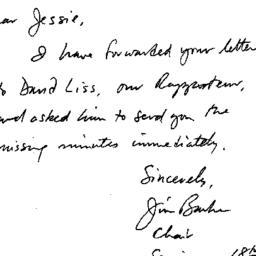 Correspondence, 1996-04-15....