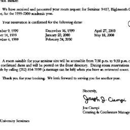 Correspondence, 2000-06-28....