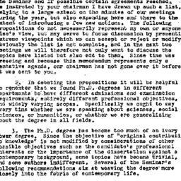 Handouts, 1957-04-29. Highe...