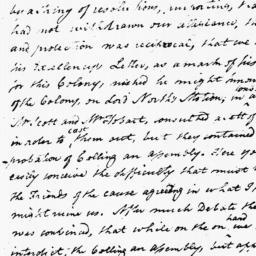 Document, 1775 December 18