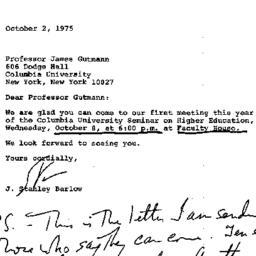 Correspondence, 1975-10-02....