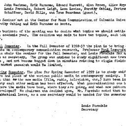 Minutes, 1958-05-23. Public...