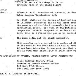Announcements, 1978-05-05. ...