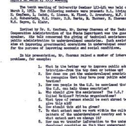 Minutes, 1953-03-02. Organi...