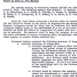 Minutes, 1953-04-06. Organi...