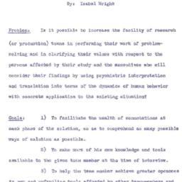 Speaker's paper, 1954-10-18...