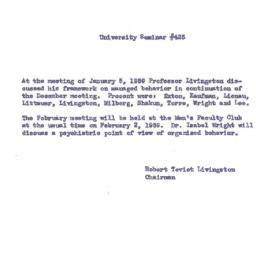 Announcements, 1959-02-02. ...