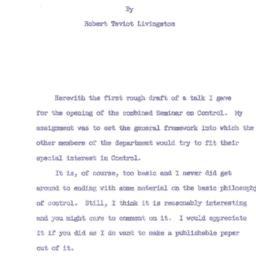Speaker's paper, 1959-10-15...