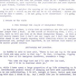 Speaker's paper, 1964-01-13...