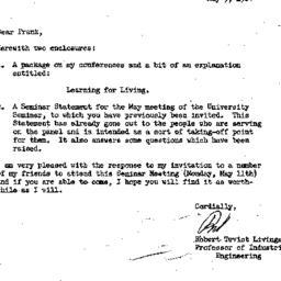 Correspondence, 1964-05-05....