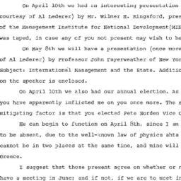 Correspondence, 1972-05-08....