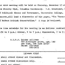Announcements, 1973-12-06. ...