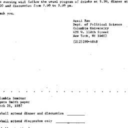 Announcements, 1987-02-25. ...