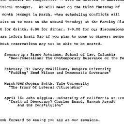 Announcements, 1986-12-03. ...