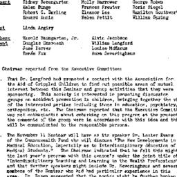 Minutes, 1958-10-14. The Ro...
