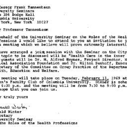 Correspondence, 1969-01-31....
