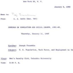 Correspondence, 1962-01-02....