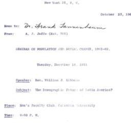 Correspondence, 1961-10-23....