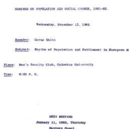 Correspondence, 1961-12-01....